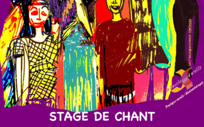 STAGE DE CHANT 5, 6 7 juillet 2019