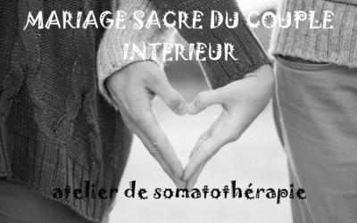 Mariage sacré du couple intérieur  Vendredi 27 mars de 19h à 21h